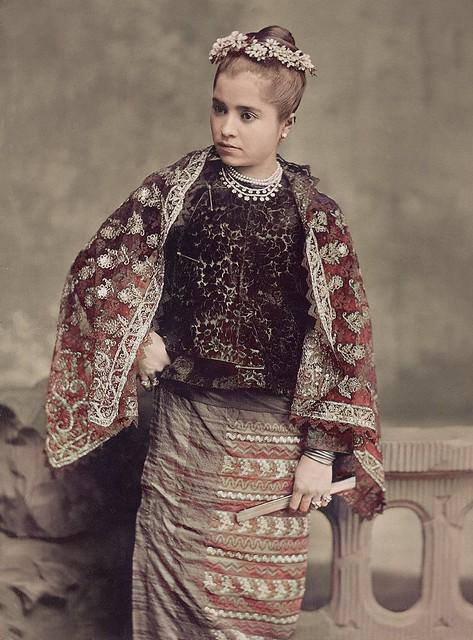 Burmese Beauty ...