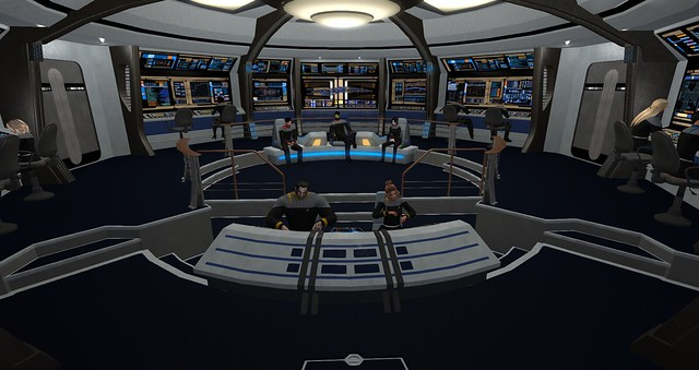 UFS HQ,USS Thor and Rookery Starfleet Roleplay 1