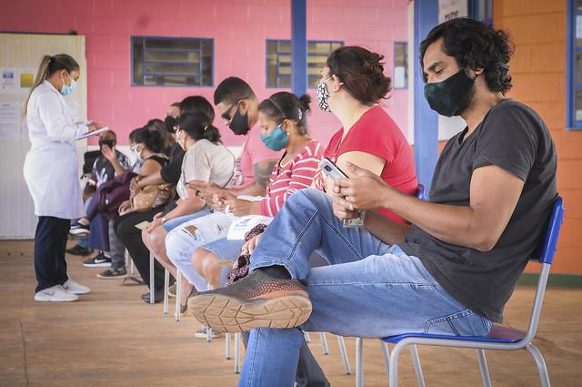 Saúde realiza Dia D de Vacinação contra Covid-19 no Sol Nascente