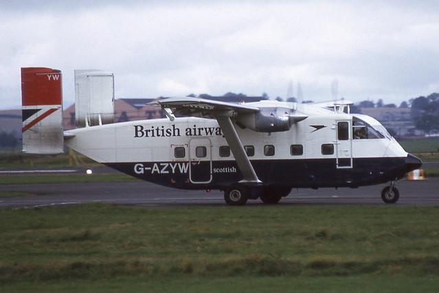 G-AZYW Glasgow 20-9-1974