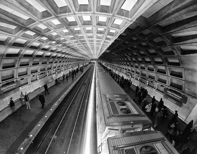 Metro tunnel in Washington, DC