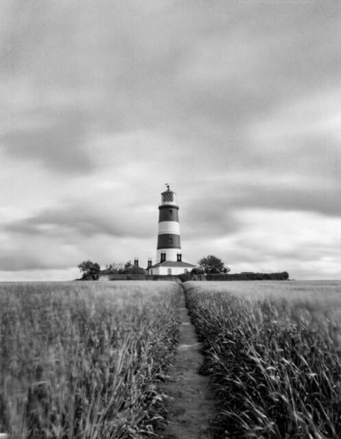 Happisbugh Lighthouse, large format homemade camera