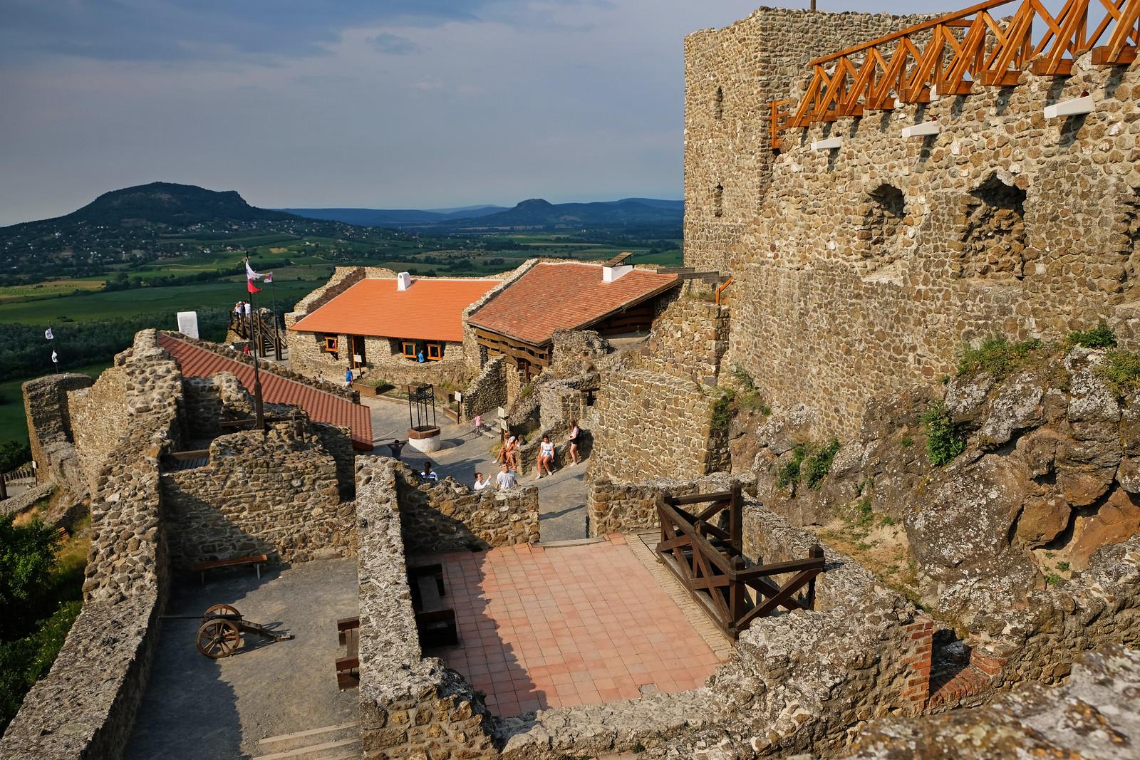 Szigliget Castle, Balaton Uplands National Park, Hungary
