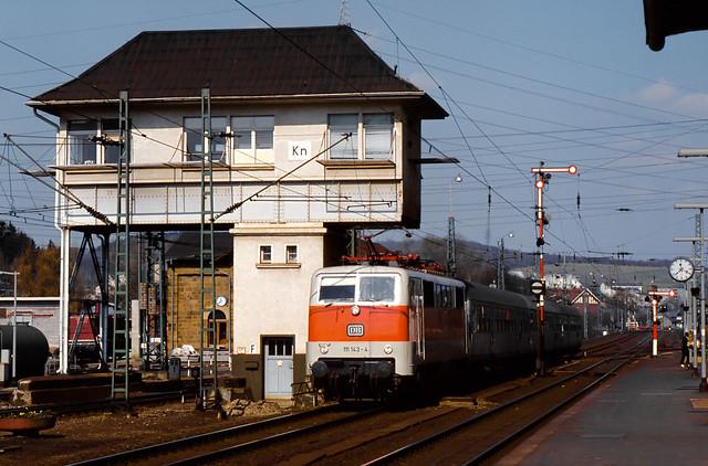 DB 111 143 Bf Kreuztal 12.04.1980
