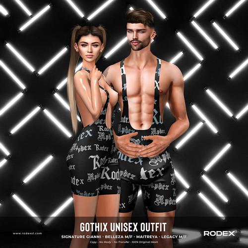 Gothix Unisex Outfit