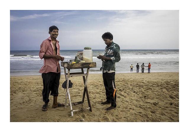 Beach vendor Puri Beach