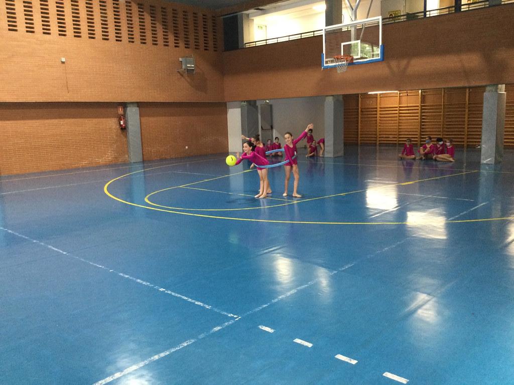 Exhibición de baile español y Gimnasia rítmica