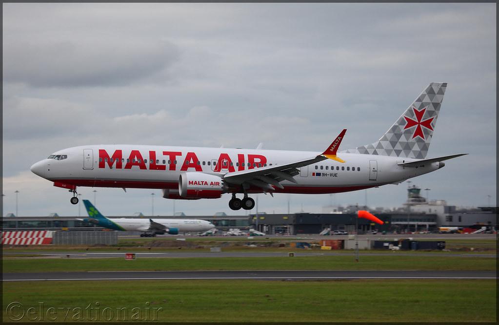 9H-VUE | Boeing 737 MAX 8-200 | Malta Air