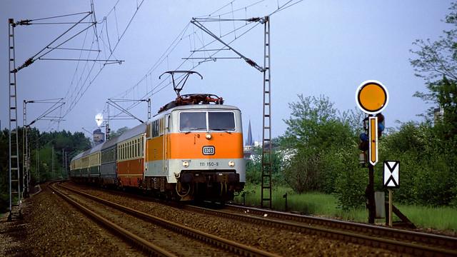 DB 111 150 Köln-Deutz 19.05.1986