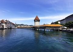 Kapličkový most v Lucernu
