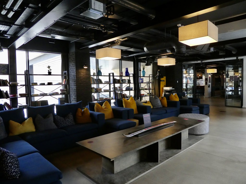 Open plan lounge areas, Altido Vita, Edinburgh