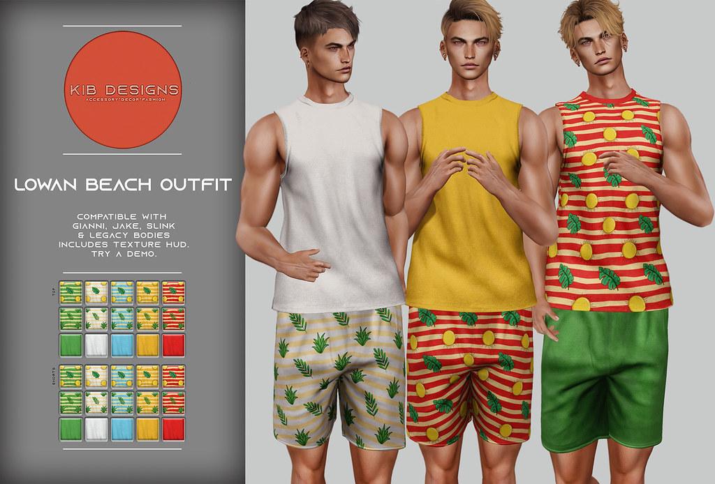 KiB Designs – Lowan Beach Outfit @Sense Event 18th July