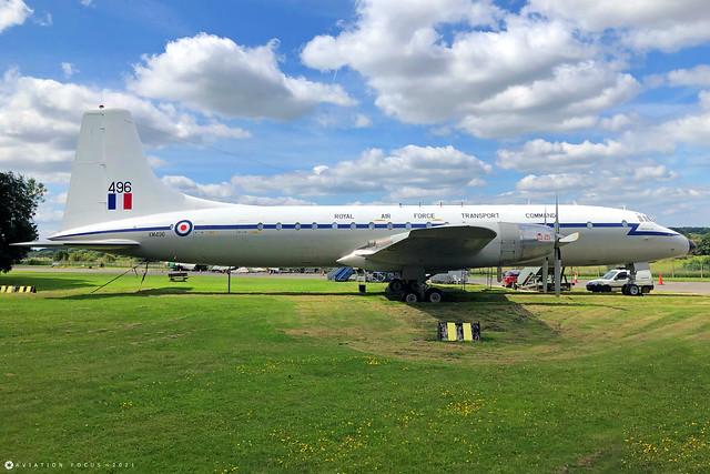 XM496  -  Bristol Britannia C.1  -  Royal Air Force  -  GBA/EGBP 14/7/21
