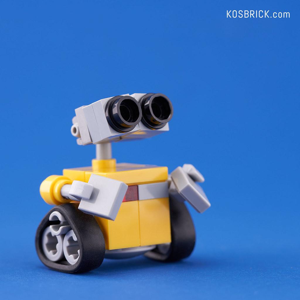 LEGO Mini Wall-E (Tutorial)