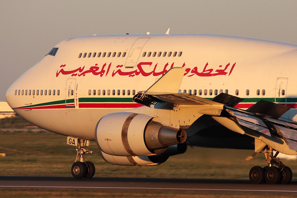 CN-RGA | Royal Air Maroc | Boeing 747-428 | Paris Orly [ORY/FPO]
