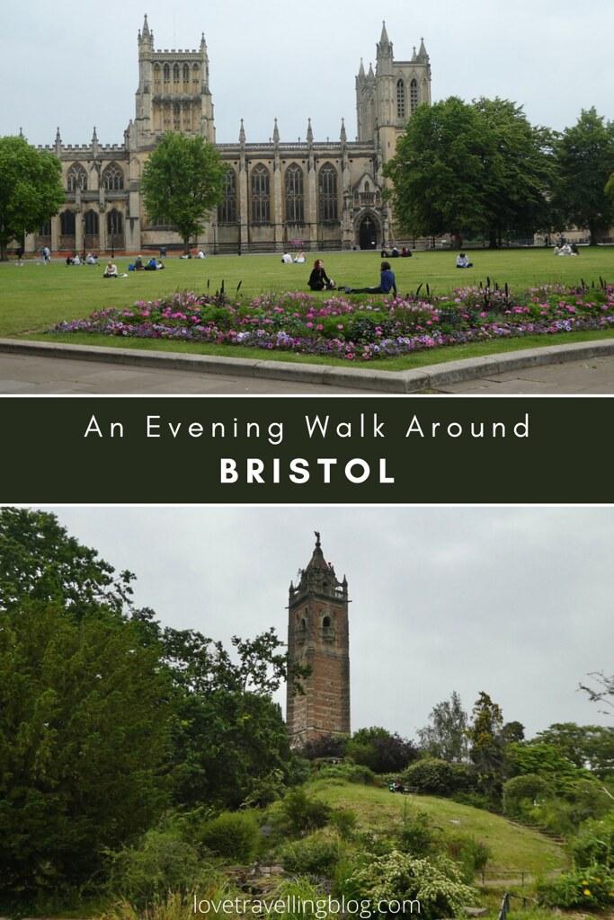 An evening walk around Bristol