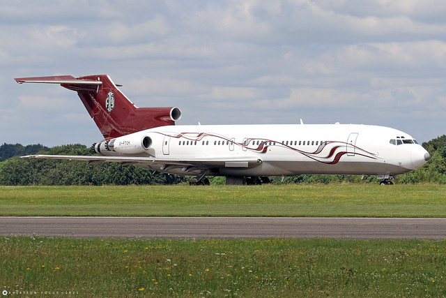 M-FTOH  -  Boeing 727-269  -  Strong Aviation  -  GBA/EGBP 14/7/21