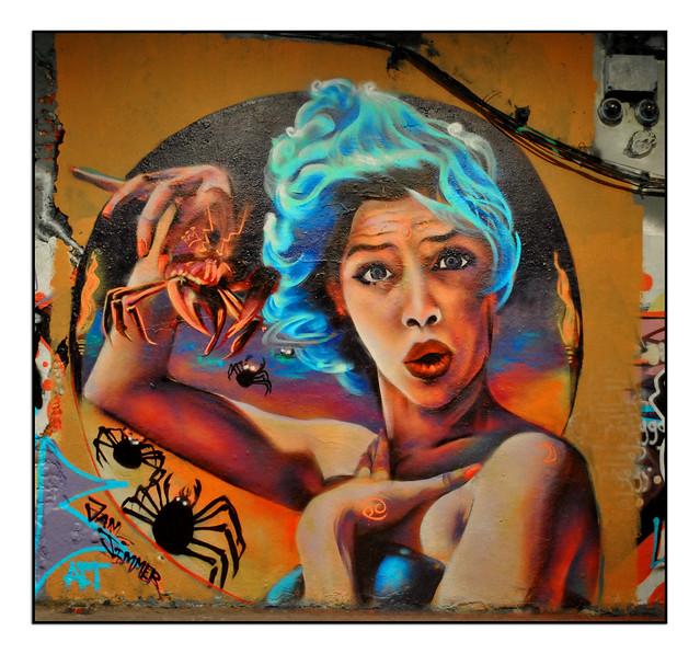 LONDON STREET ART by VAN JIMMER.
