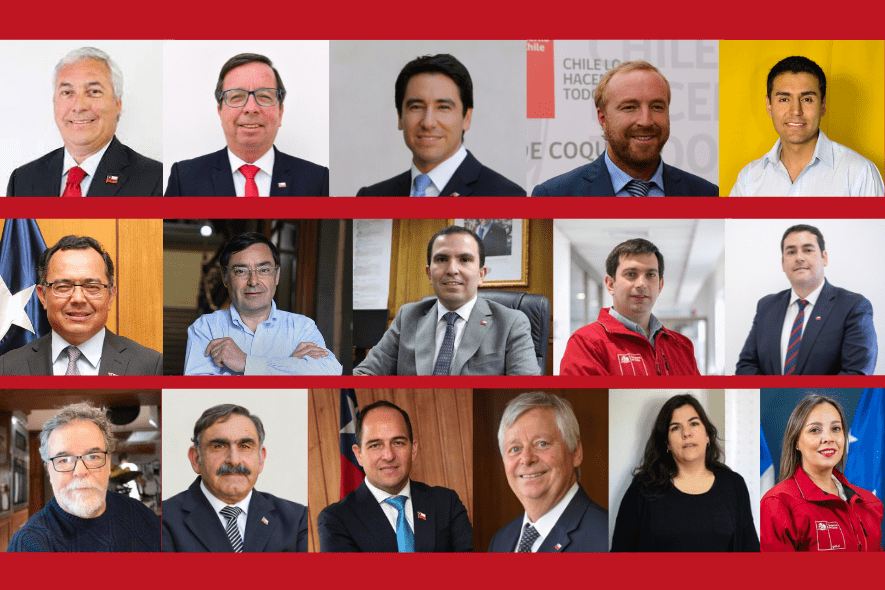 Delegados presidenciales: las 16 personas a las que designó Piñera para representar al Gobierno en las regiones