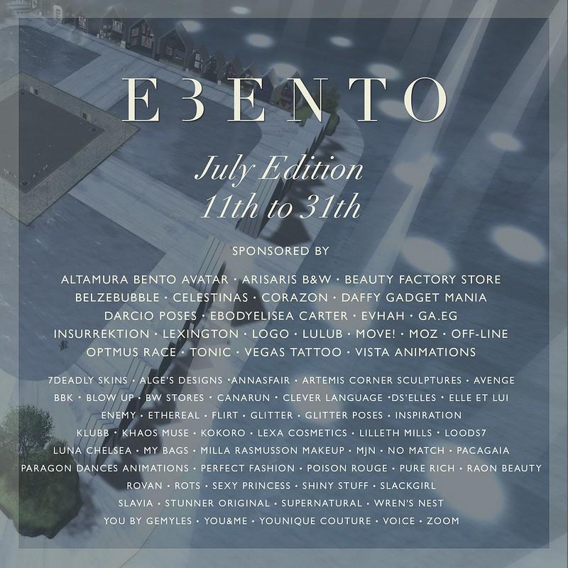 eBento - July Round 2021