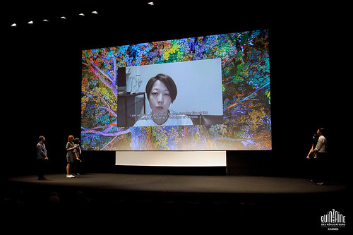 Yoriko Mizushiri pour le court métrage Anxious Body
