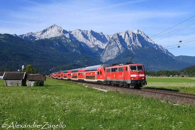 BR 111 214, Garmisch-Partenkirchen (D)