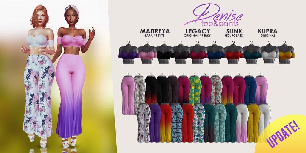 MAAI Denise top & pants + GIVEAWAY