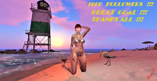 ♥   1000   FOLLOWERS   !!!  ♥