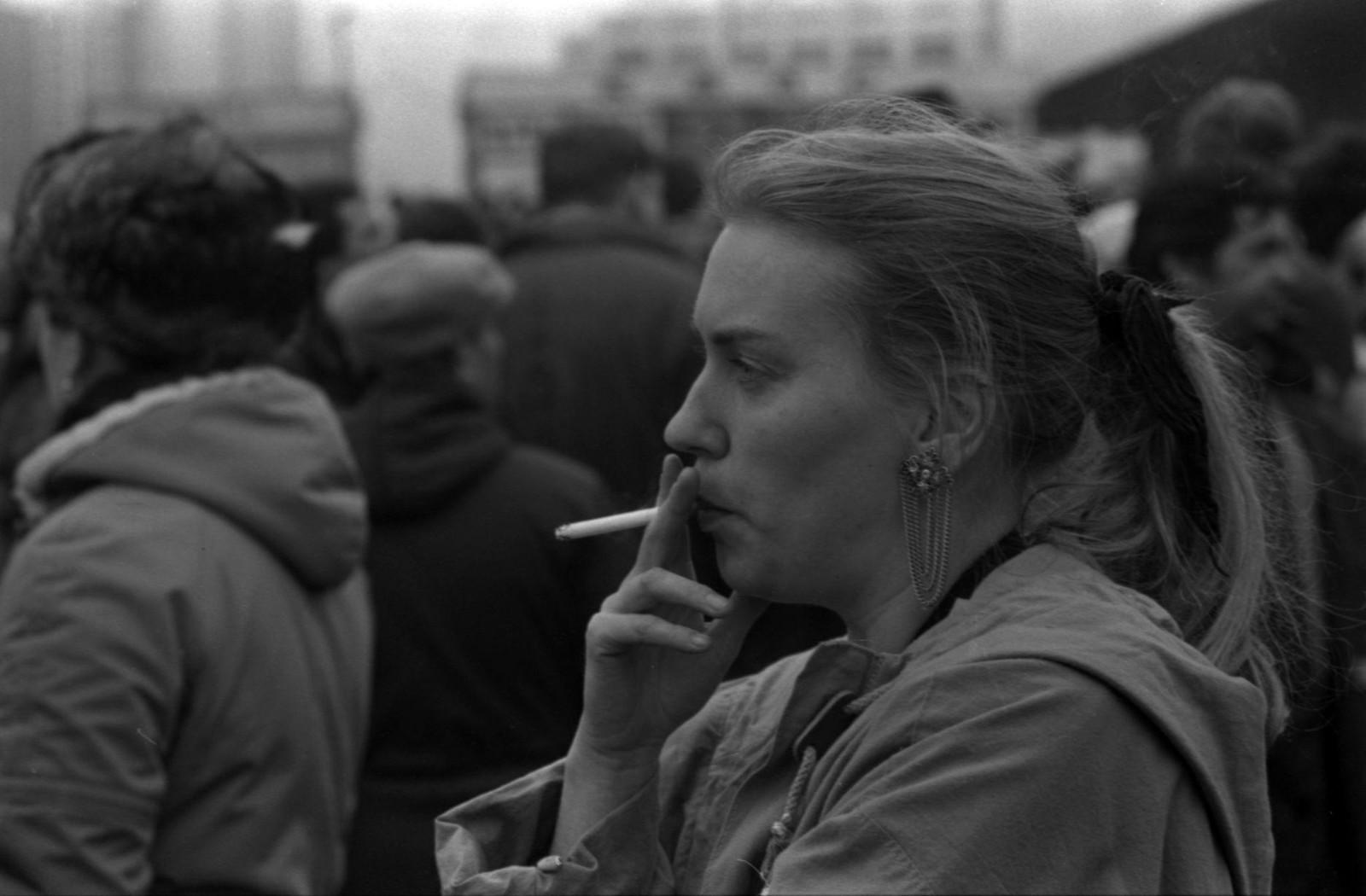 1989.  Братеево, Митинг в поддержку Бориса Ельцина