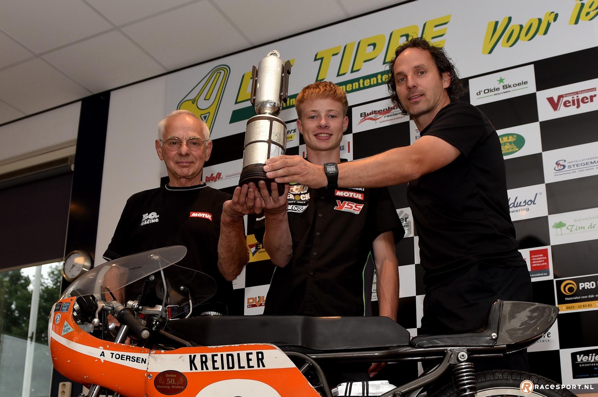 V.l.n.r. Aalt Toersen, Jeffrey Buis en Barry Veneman