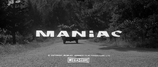 Maniac (Michael Carreras, 1963) Image titre du film