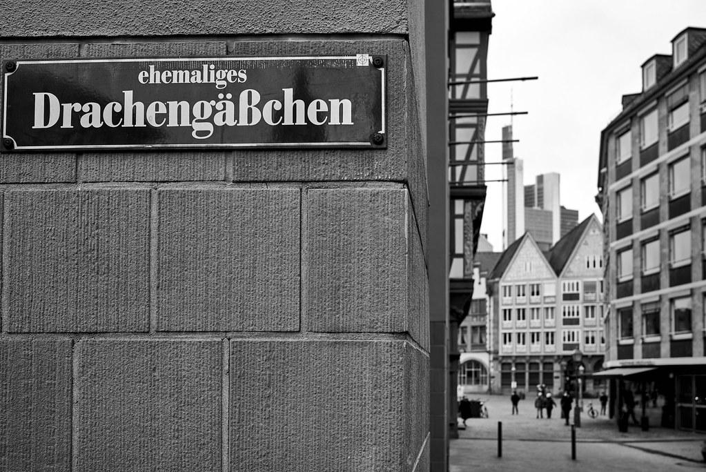 historical old city Frankfurt