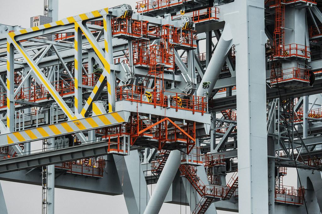 Cargo Crane Superstructure