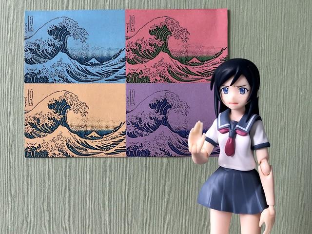 """""""No, thanks! I prefer Hokusai's original."""""""