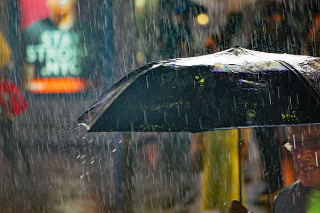 Rain Man:  Times Square NYC        (EXPLORE)       (SAM_9119