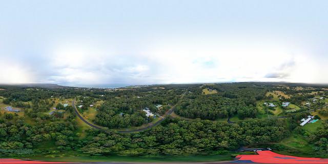Diamond Beach Hinterland Scrolling 360 Degree Panorama - DJI Mavic 2 Pro, 29/6/2021