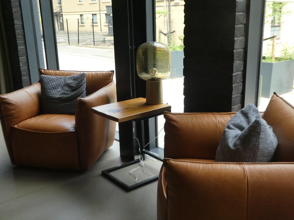 Cosy seating areas at Alttido Vita, Edinburgh