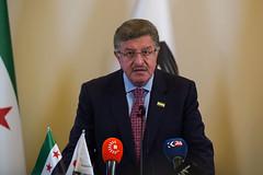 رئيس الائتلاف الوطني السوري سالم المسلط