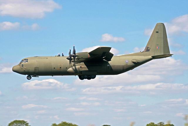 ZH867 Lockheed C-130J Hercules C4 Royal Air Force