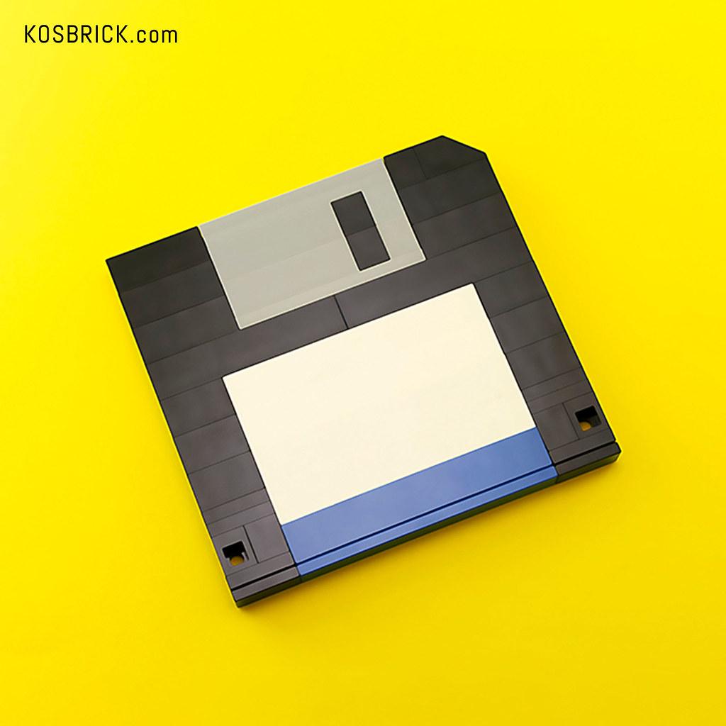 LEGO Floppy Disk - Save Icon (Tutorial)