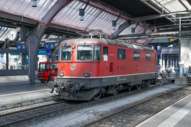SBB Re 4/4 420 112 Zürich Hbf