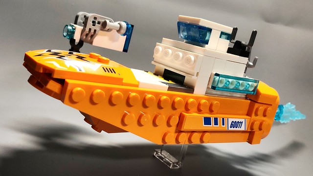 Mini orange 1067 freighter