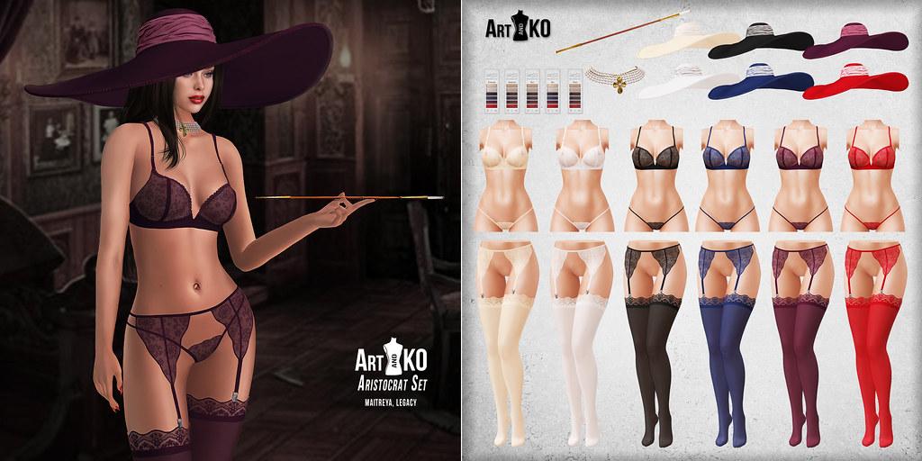 Art&Ko – Aristocrat Set – Tres Chic