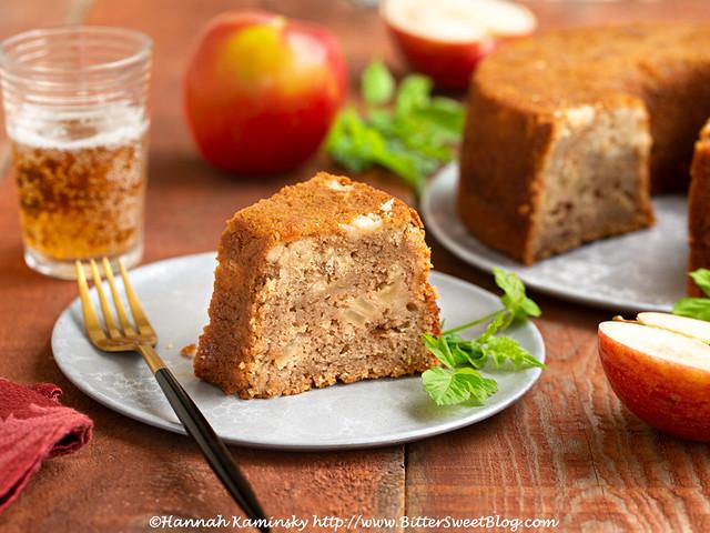 Easy Going Apple Cake 1