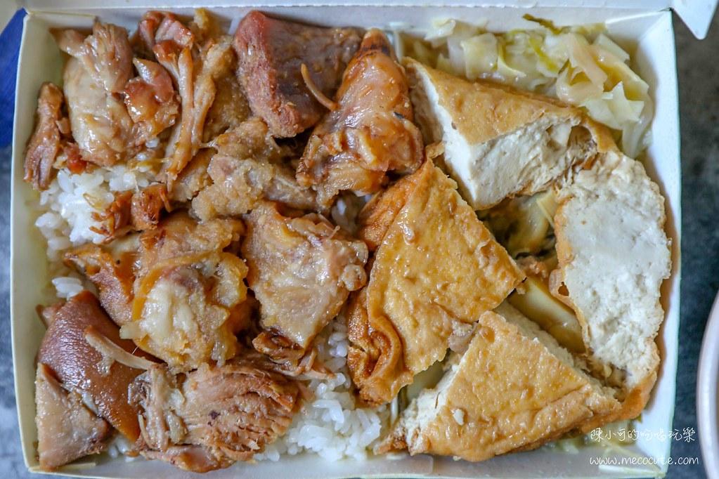 三重美食:阿發豬腳飯,三重在地人才知道的巷弄美食,平價好吃的豬腳飯