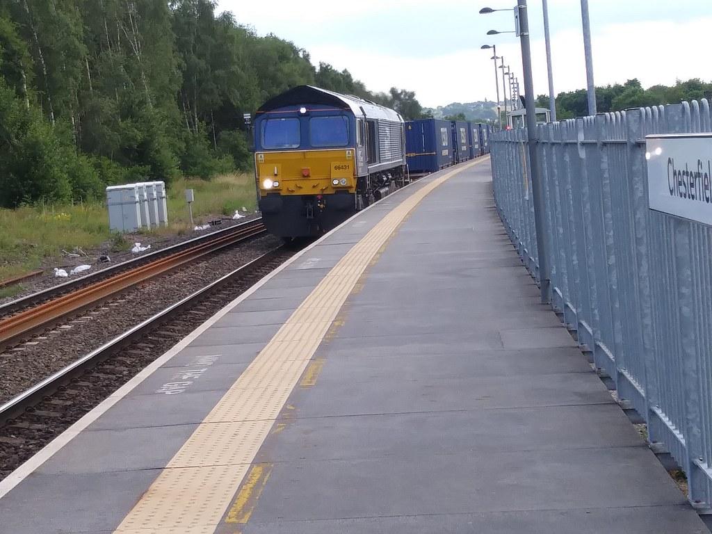 Direct Rail Services Class 66 66431