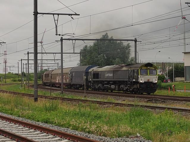 Captrain 266 001-1, Antwerpen haven