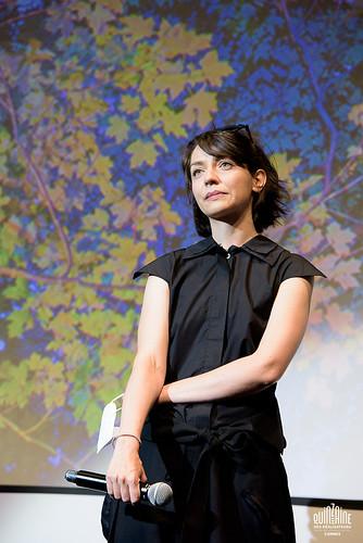 Andreea Cristina Bortun pour la présentation de When night meets dawn