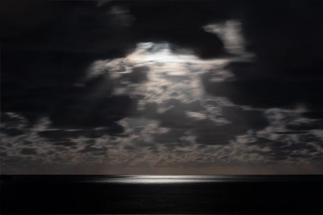 Moon Lit Sea
