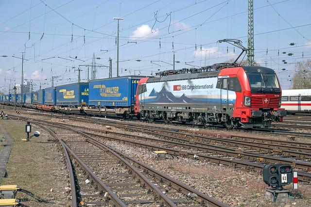 SBB 193 468 Basel Badischer Bahnhof
